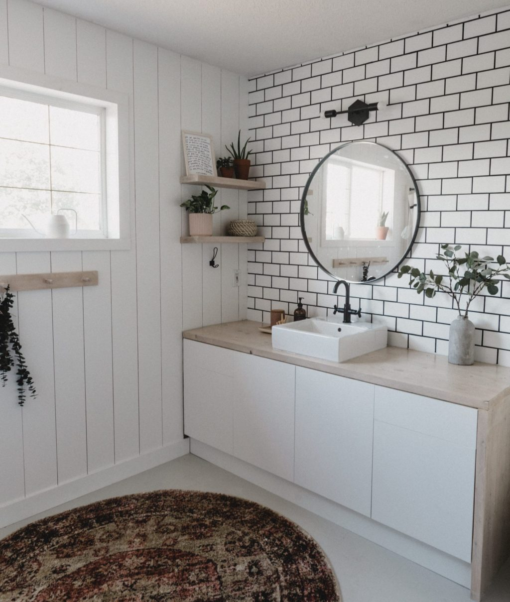 Accent-Walls.-3-1024x1209 Best +60 Ideas to Enhance Your Bathroom's Luxuriousness
