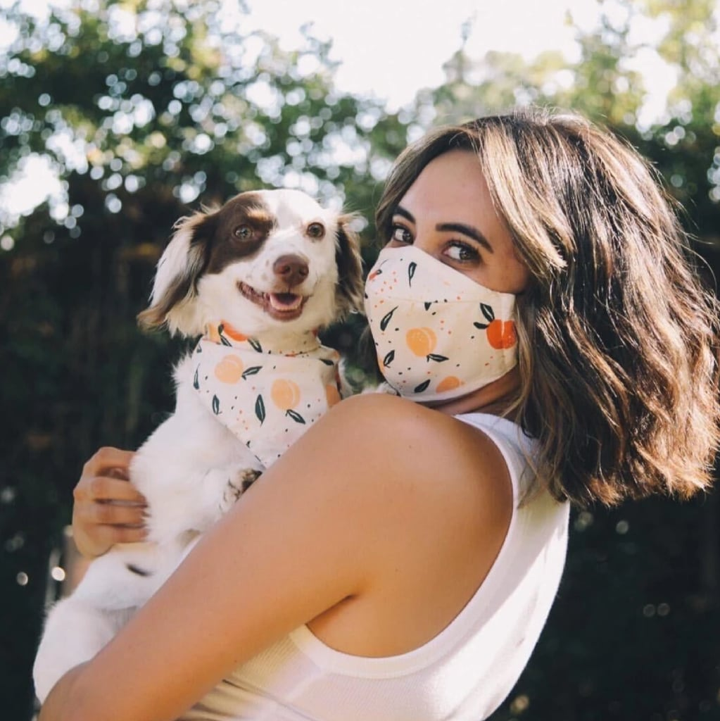 Bandana-and-facemask-for-twinning. 10 Unique Luxury Gifts for Dogs That Amaze Everyone
