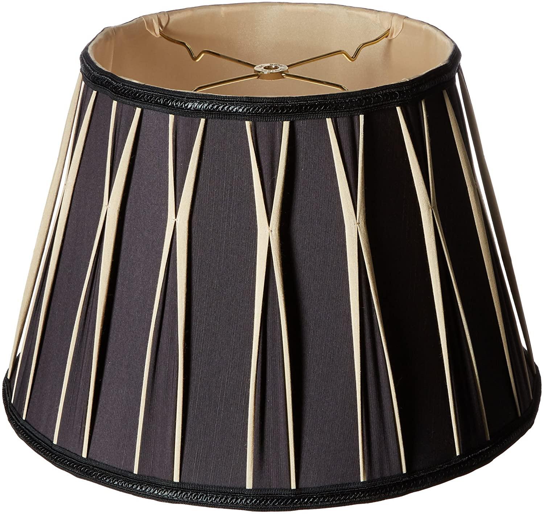 Bowtie-Pleated-Drum-Designer-Lamp-Shade 10 Unique & Wonderful Lampshade Ideas
