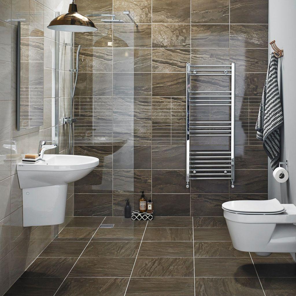 Ceramic-Tile-1 Best +60 Ideas to Enhance Your Bathroom's Luxuriousness