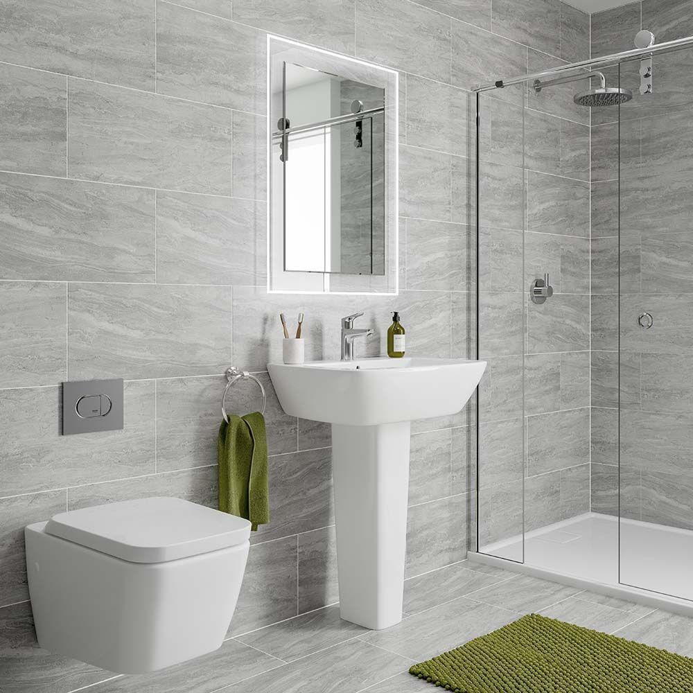 Ceramic-Tile-2 Best +60 Ideas to Enhance Your Bathroom's Luxuriousness