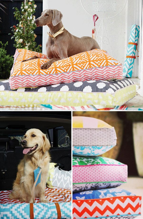 Colorful-bed-1 +80 Adorable Dog Bed Designs That Will Surprise You