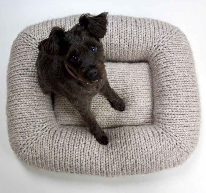 Crochet-Pillow.-1 +80 Adorable Dog Bed Designs That Will Surprise You