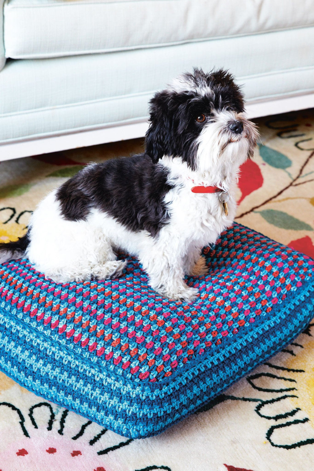 Crochet-Pillow.-1024x1535 +80 Adorable Dog Bed Designs That Will Surprise You