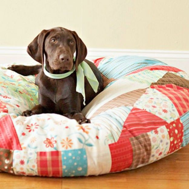 Dog-bed-duvet. +80 Adorable Dog Bed Designs That Will Surprise You