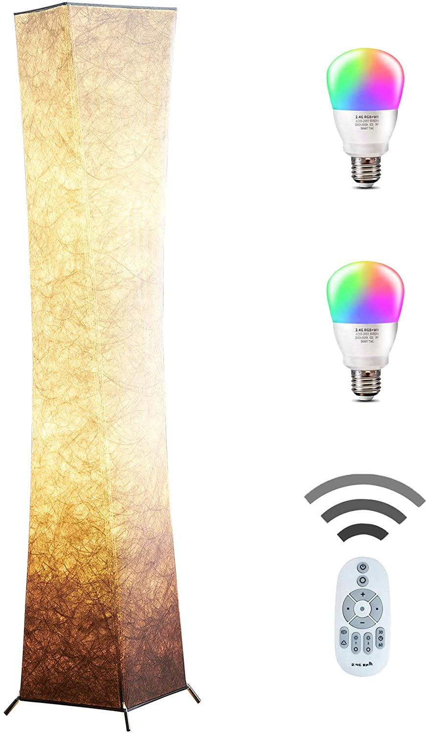 Floor-Lamp-CHIPHY-61-RGB-Standing-Lamp 15 Unique Artistic Floor Lamps to Light Your Bedroom