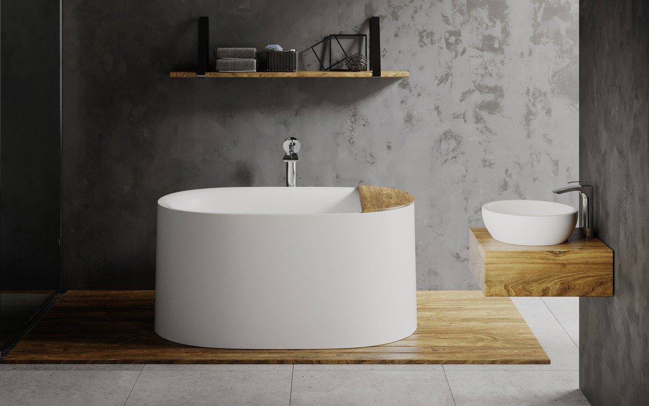 Freestanding-Bathtub-1 Best +60 Ideas to Enhance Your Bathroom's Luxuriousness