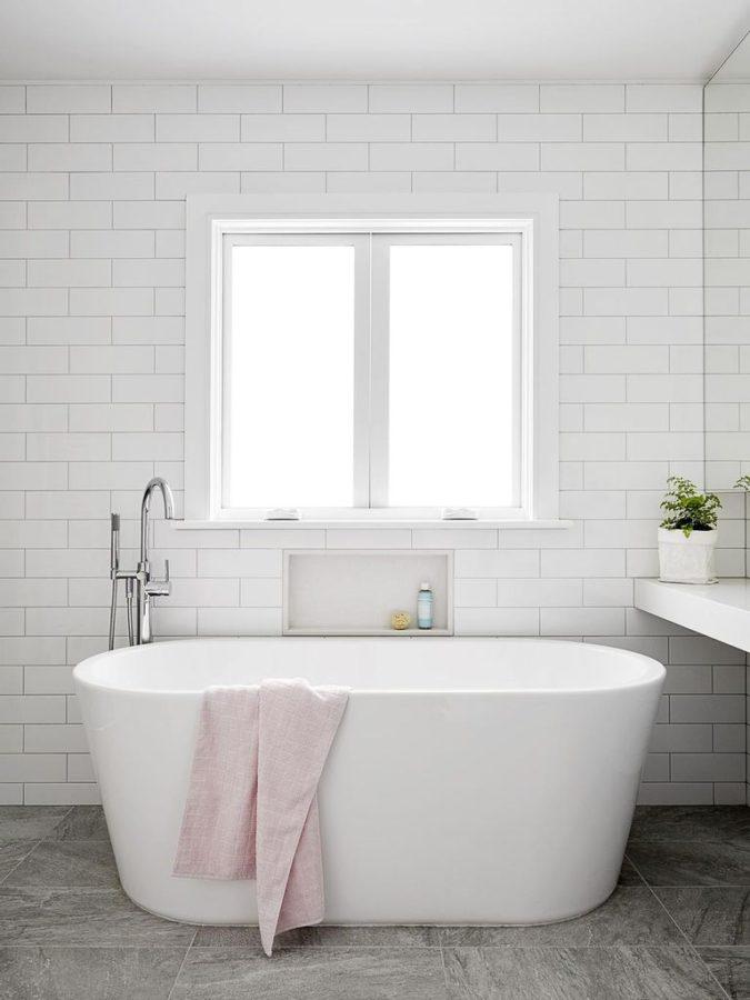 Freestanding-Bathtub-675x900 Best +60 Ideas to Enhance Your Bathroom's Luxuriousness