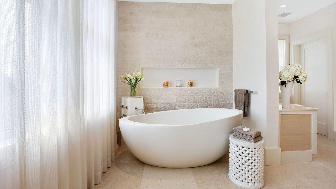 Freestanding-Bathtub.-2 Best +60 Ideas to Enhance Your Bathroom's Luxuriousness