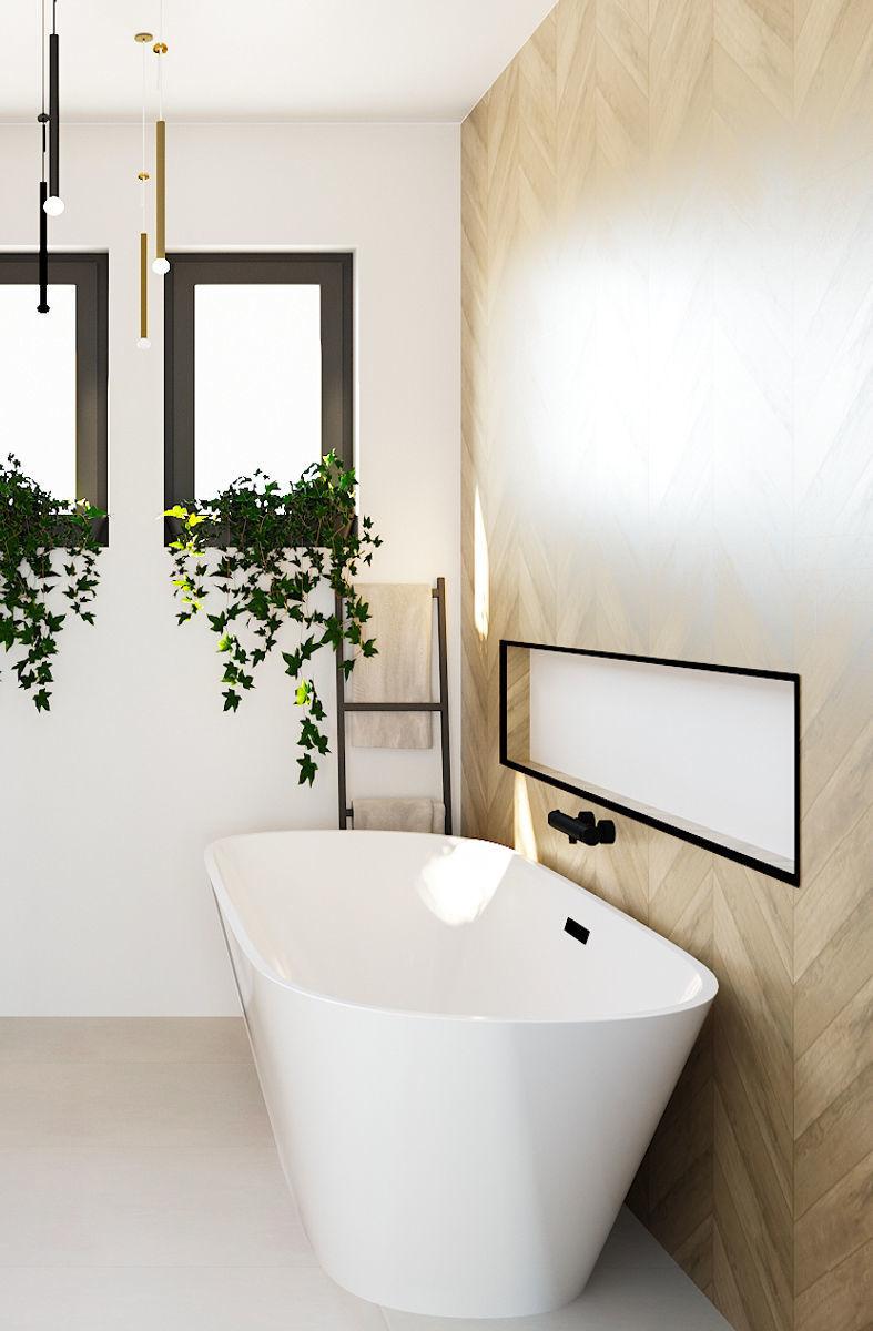 Freestanding-Bathtub. Best +60 Ideas to Enhance Your Bathroom's Luxuriousness