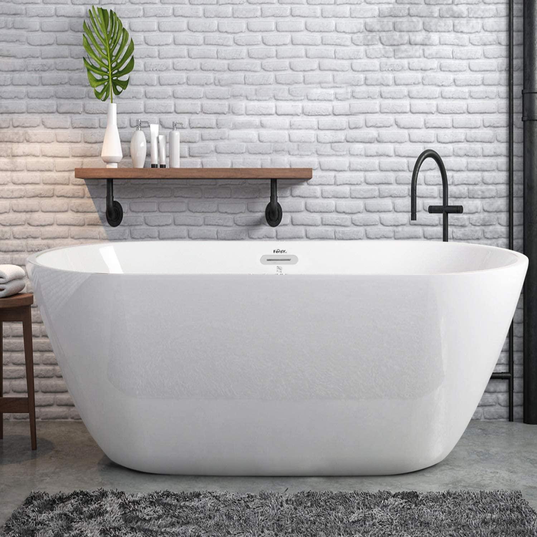 Freestanding-Bathtub Best +60 Ideas to Enhance Your Bathroom's Luxuriousness