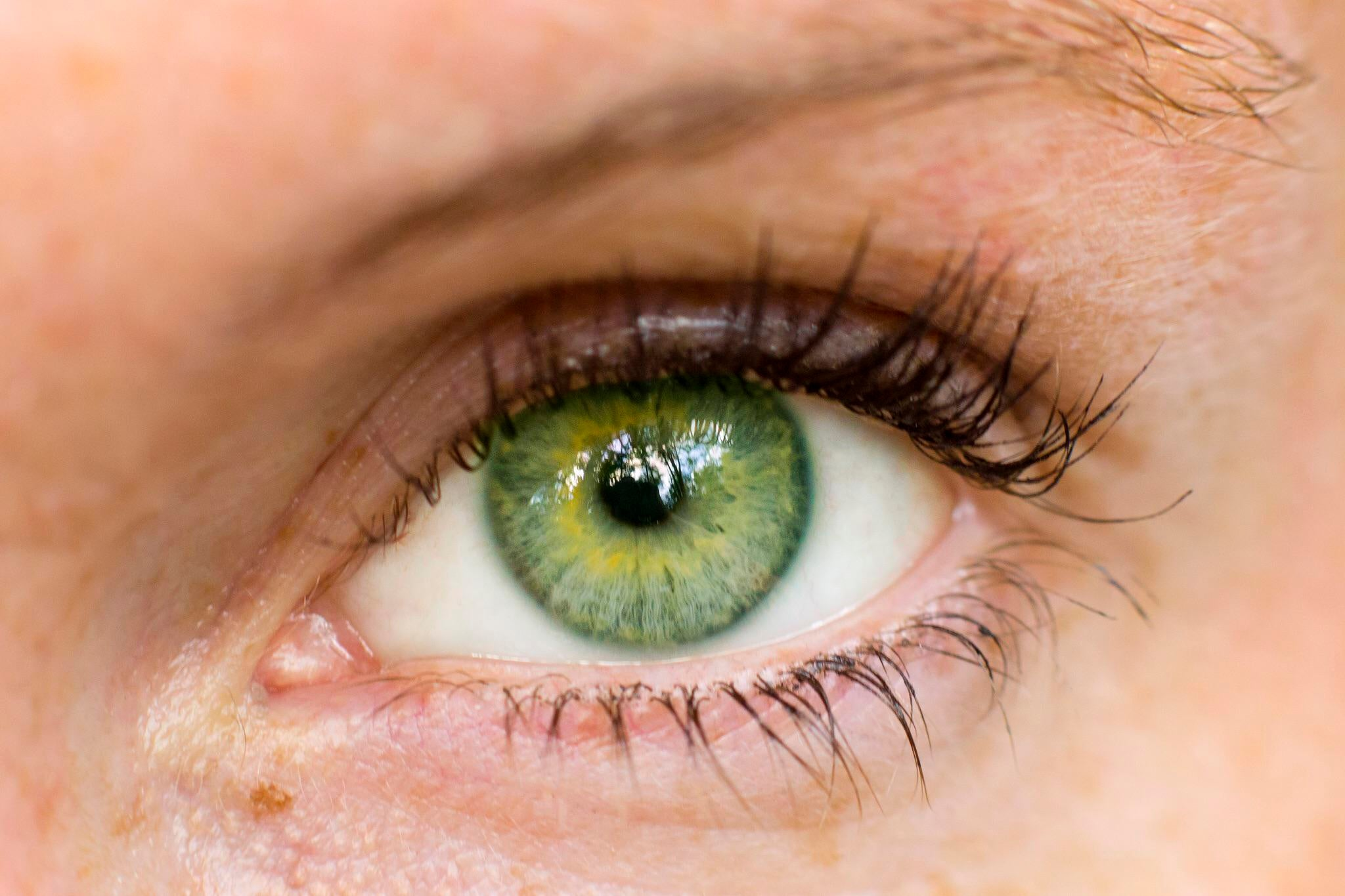 Green-eye-color-1 7 Rarest and Unusual Eye Colors That Looks Unreal
