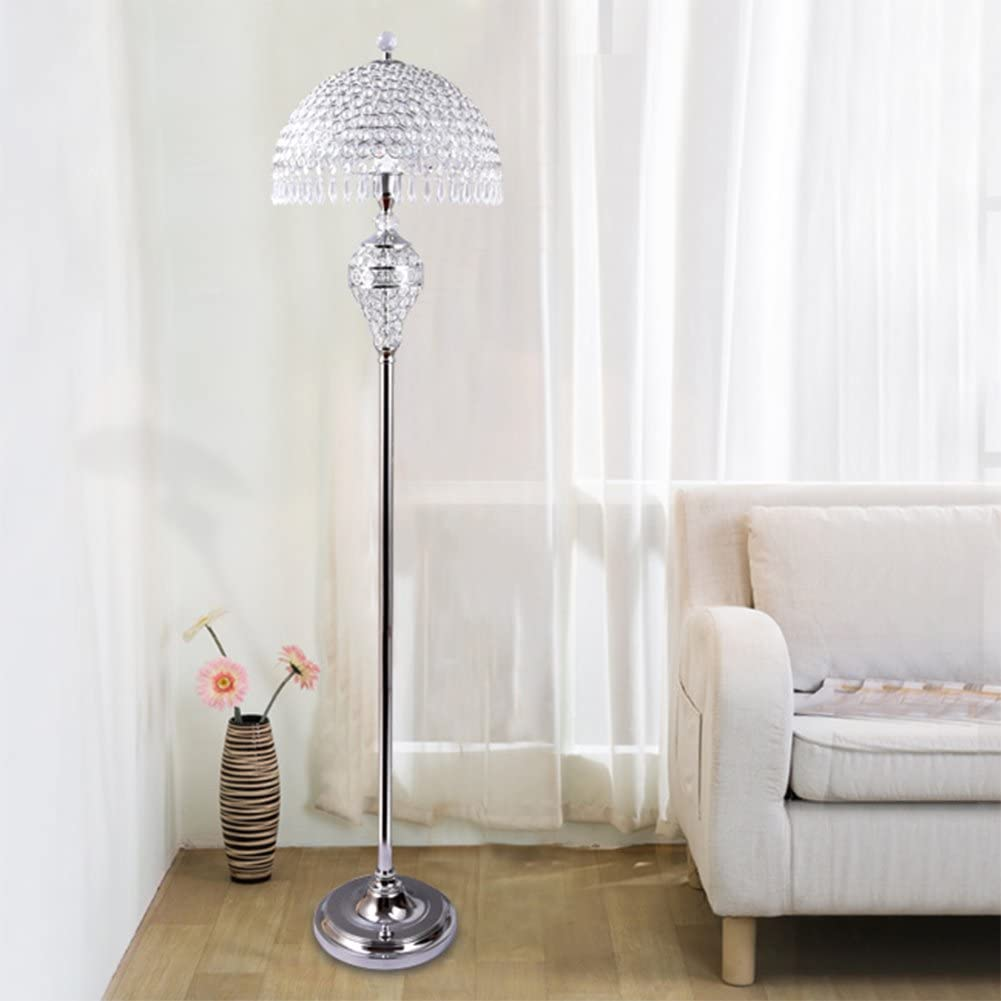 Hsyile-Lighting-KU300189-Luxury-Wedding-European-Crystal-Floor-Lamp-1 15 Unique Artistic Floor Lamps to Light Your Bedroom