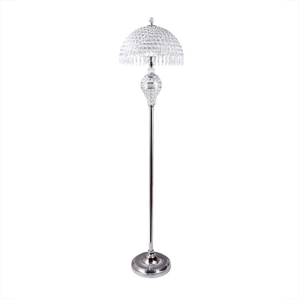 Hsyile-Lighting-KU300189-Luxury-Wedding-European-Crystal-Floor-Lamp.-1 15 Unique Artistic Floor Lamps to Light Your Bedroom