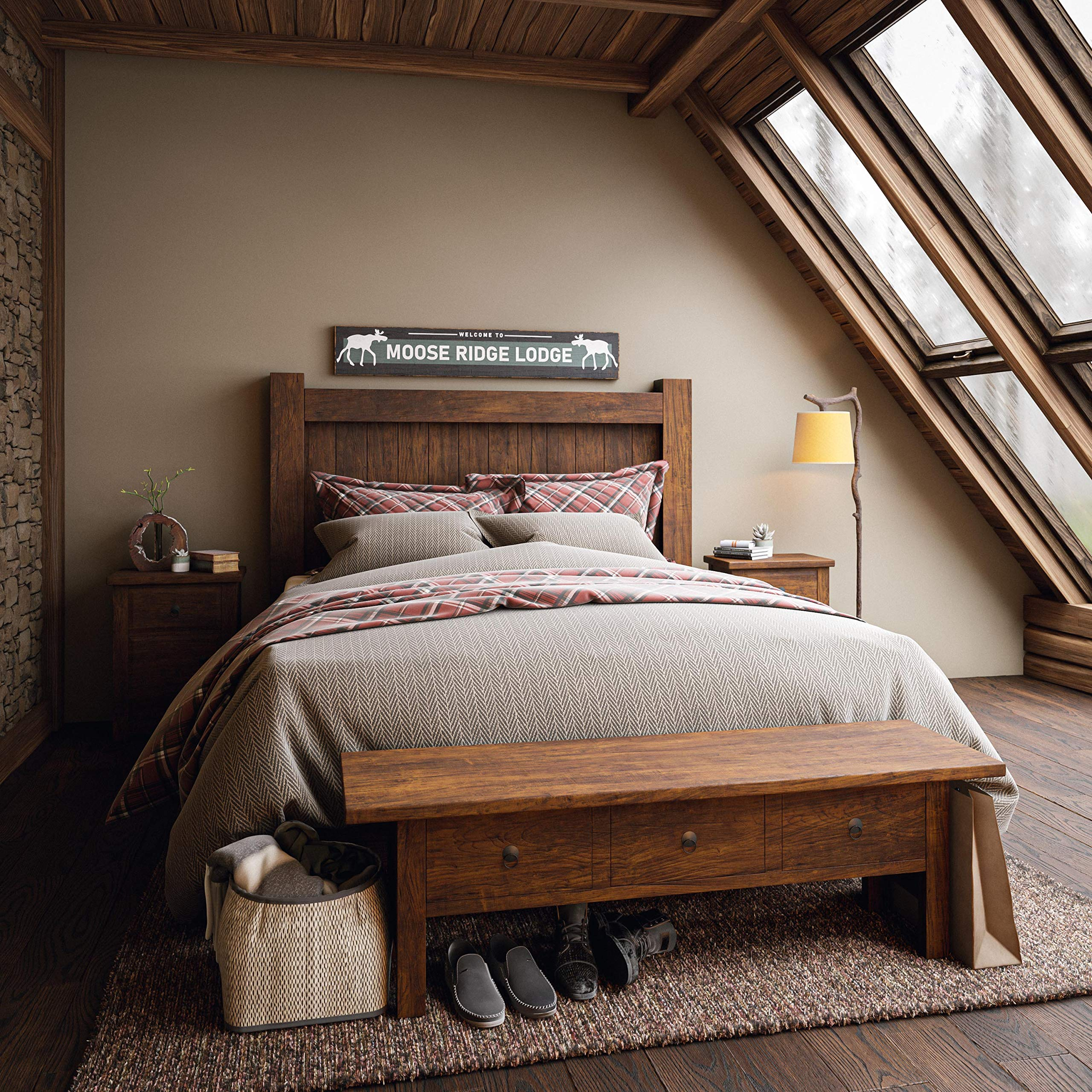 Kenroy-Home-32452BRZD-Rustic-Floor-Lamp.-1 15 Unique Artistic Floor Lamps to Light Your Bedroom