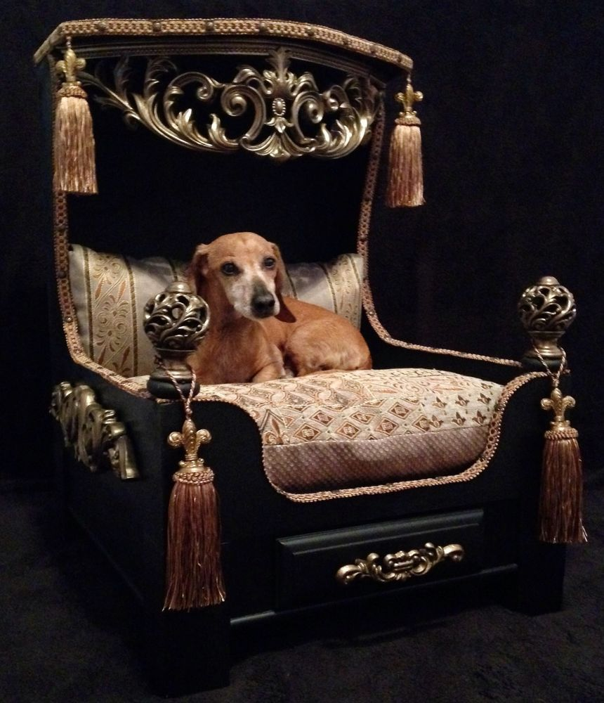 LUXORIOUS-BED +80 Adorable Dog Bed Designs That Will Surprise You