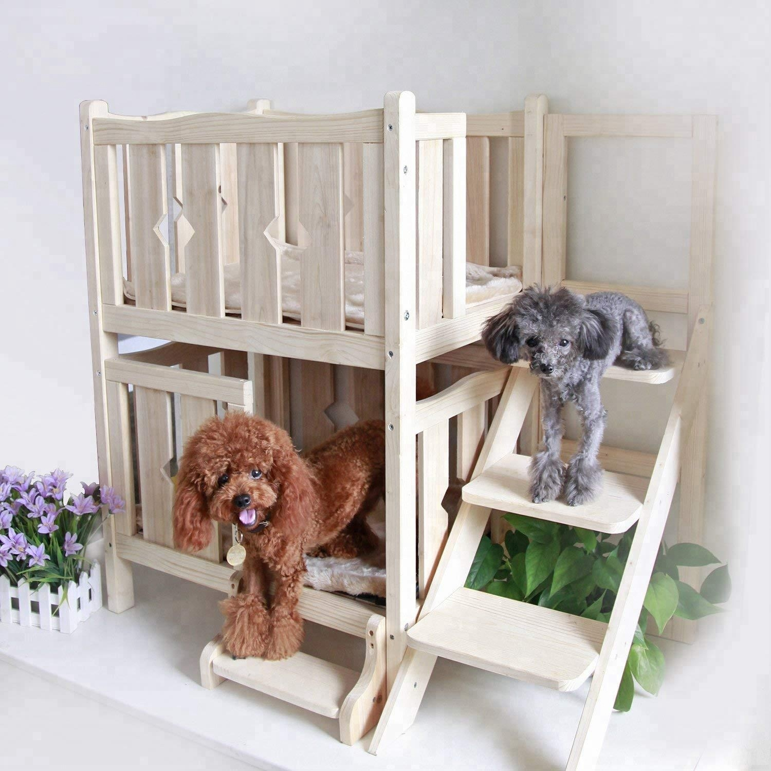 Ladder-bed-2 +80 Adorable Dog Bed Designs That Will Surprise You