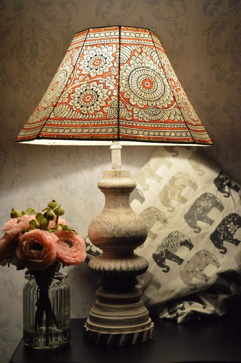 Mandala-Leather-Floral-Lamp-Shade 10 Unique & Wonderful Lampshade Ideas