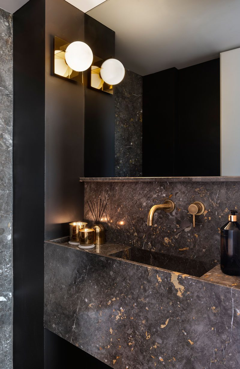 Metallic-Accents-2 Best +60 Ideas to Enhance Your Bathroom's Luxuriousness