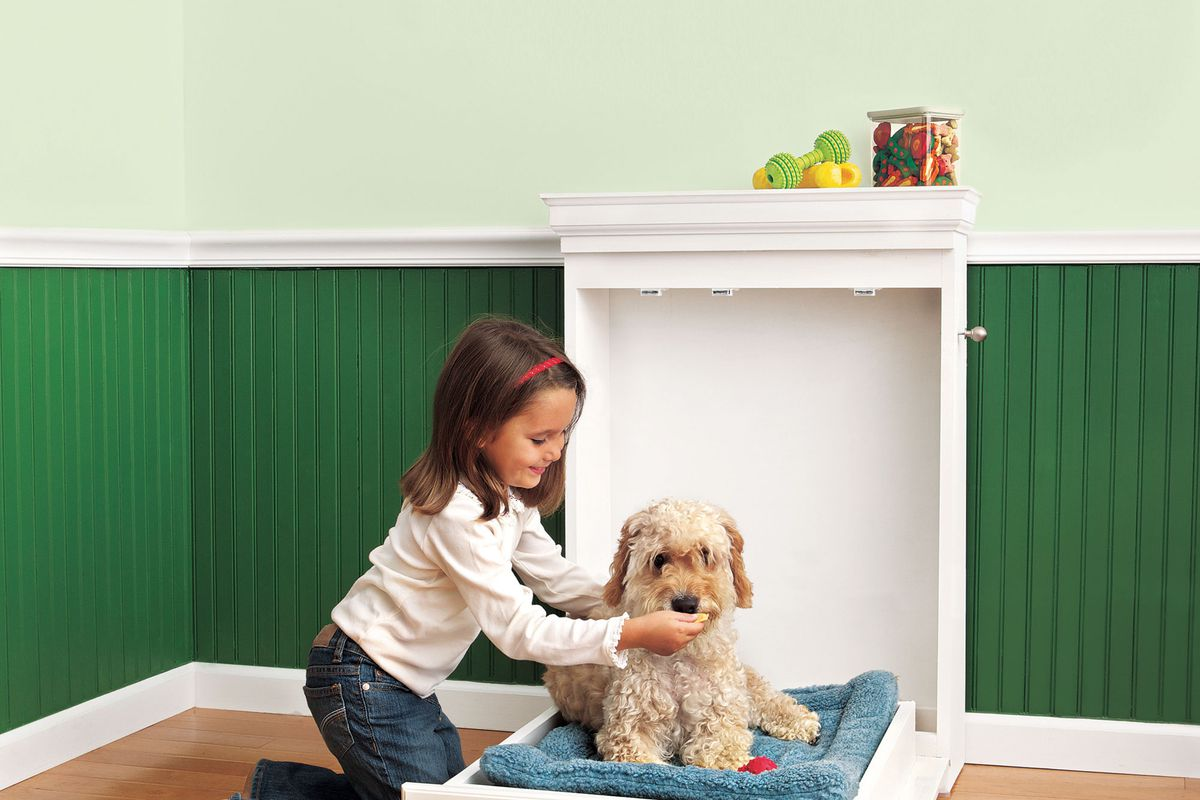 Murphy-bed-2 +80 Adorable Dog Bed Designs That Will Surprise You