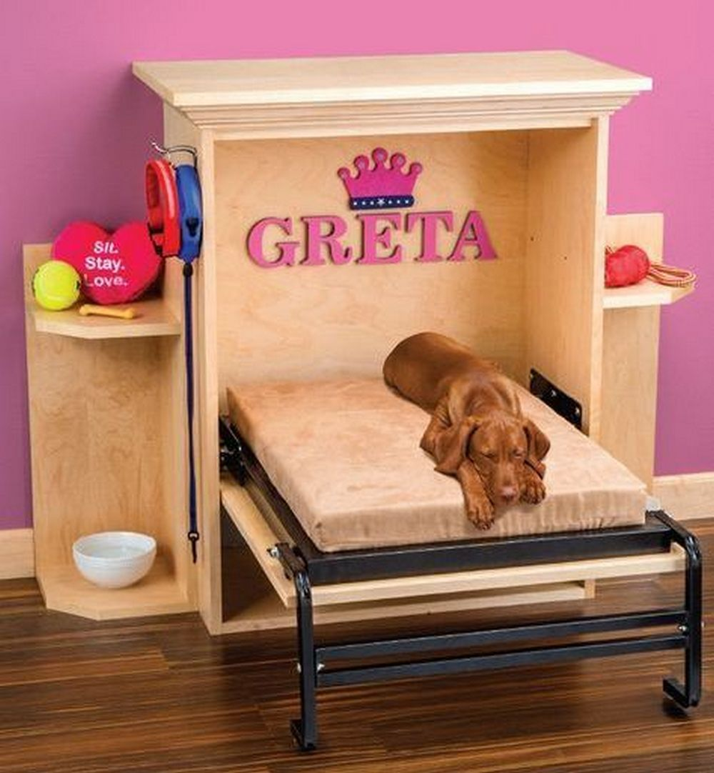 Murphy-bed.. +80 Adorable Dog Bed Designs That Will Surprise You