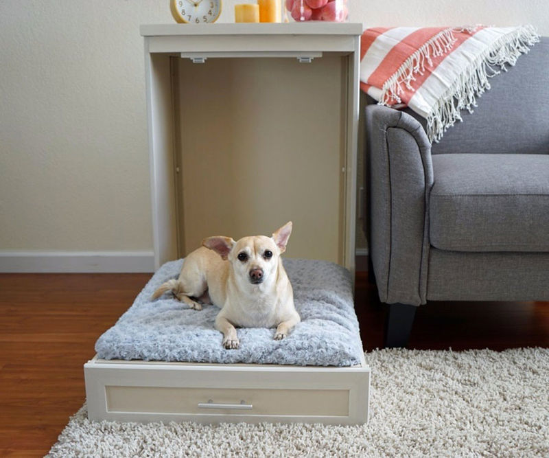 Murphy-bed +80 Adorable Dog Bed Designs That Will Surprise You