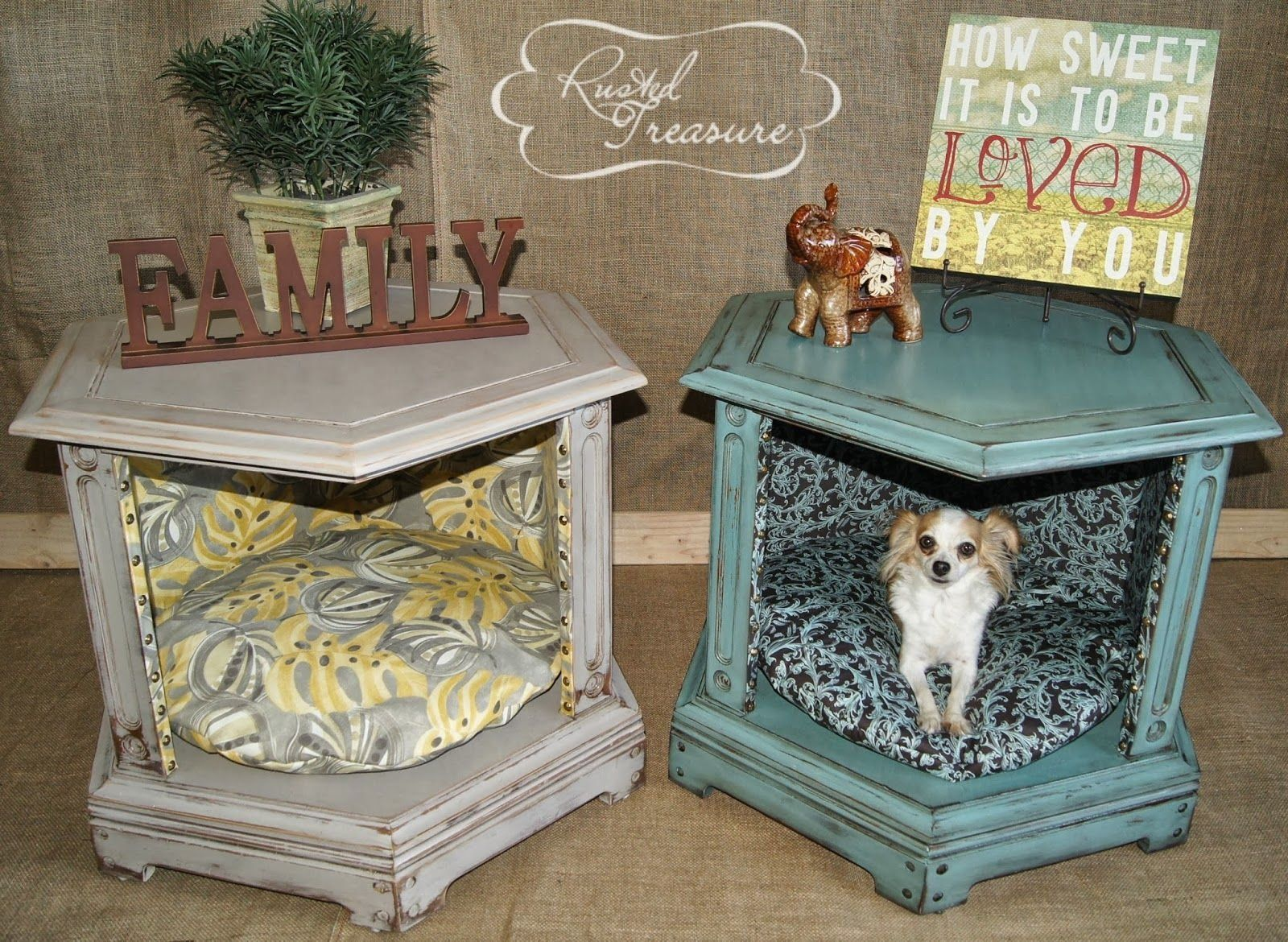Old-corner-table.-3 +80 Adorable Dog Bed Designs That Will Surprise You
