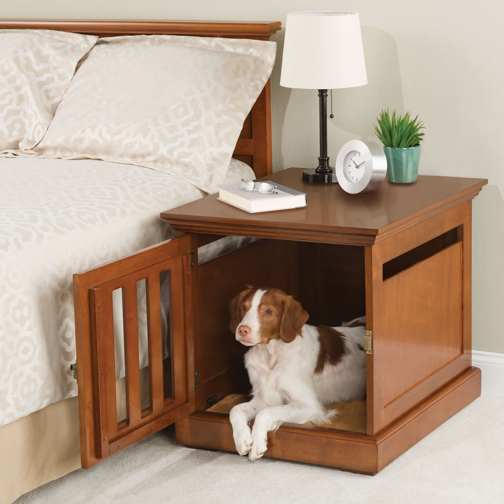 Old-corner-table.. +80 Adorable Dog Bed Designs That Will Surprise You