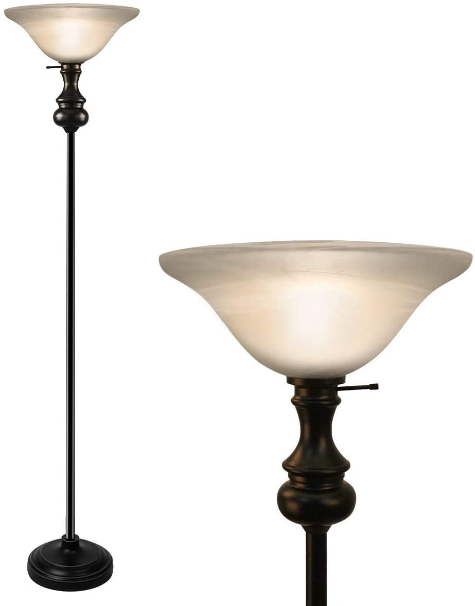 On-each-Modern-Shirley-Torchiere-Floor-Lamp-1 15 Unique Artistic Floor Lamps to Light Your Bedroom