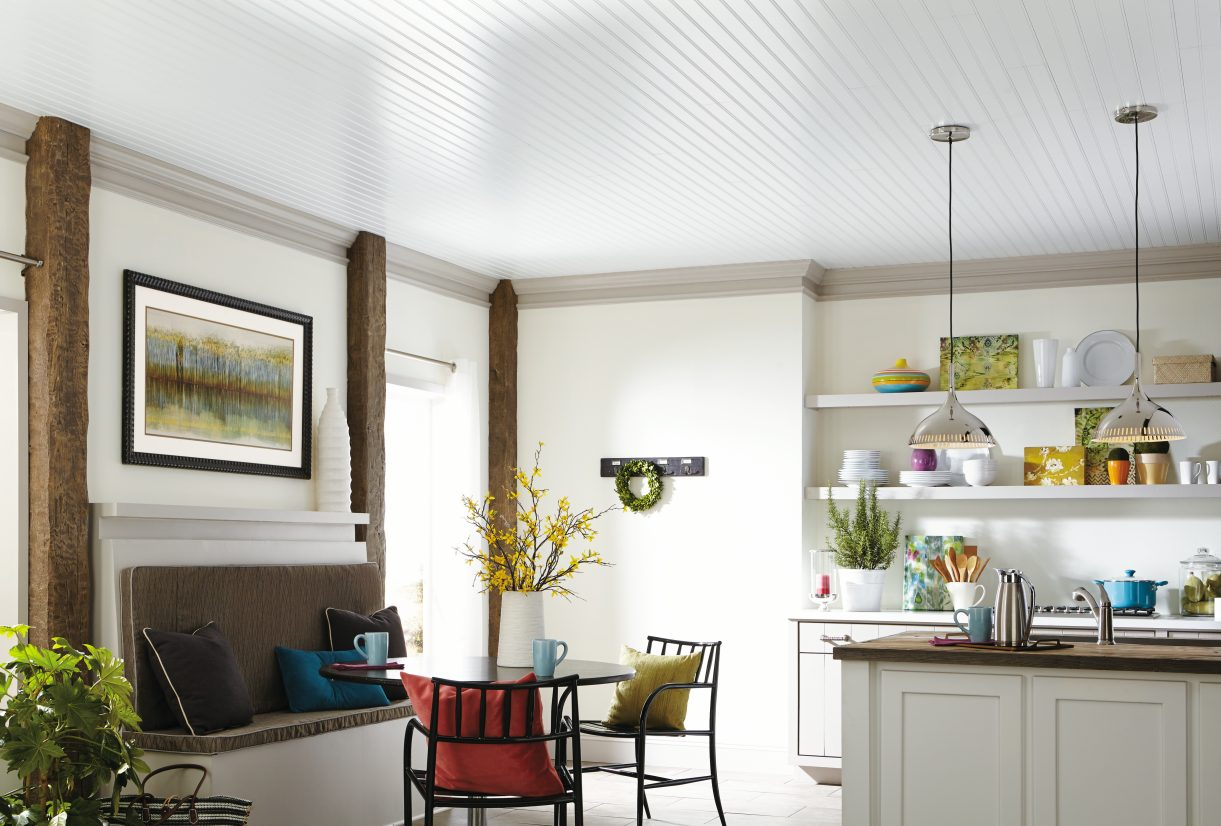 Paneling-1 +70 Unique Ceiling Design Ideas for Your Living Room
