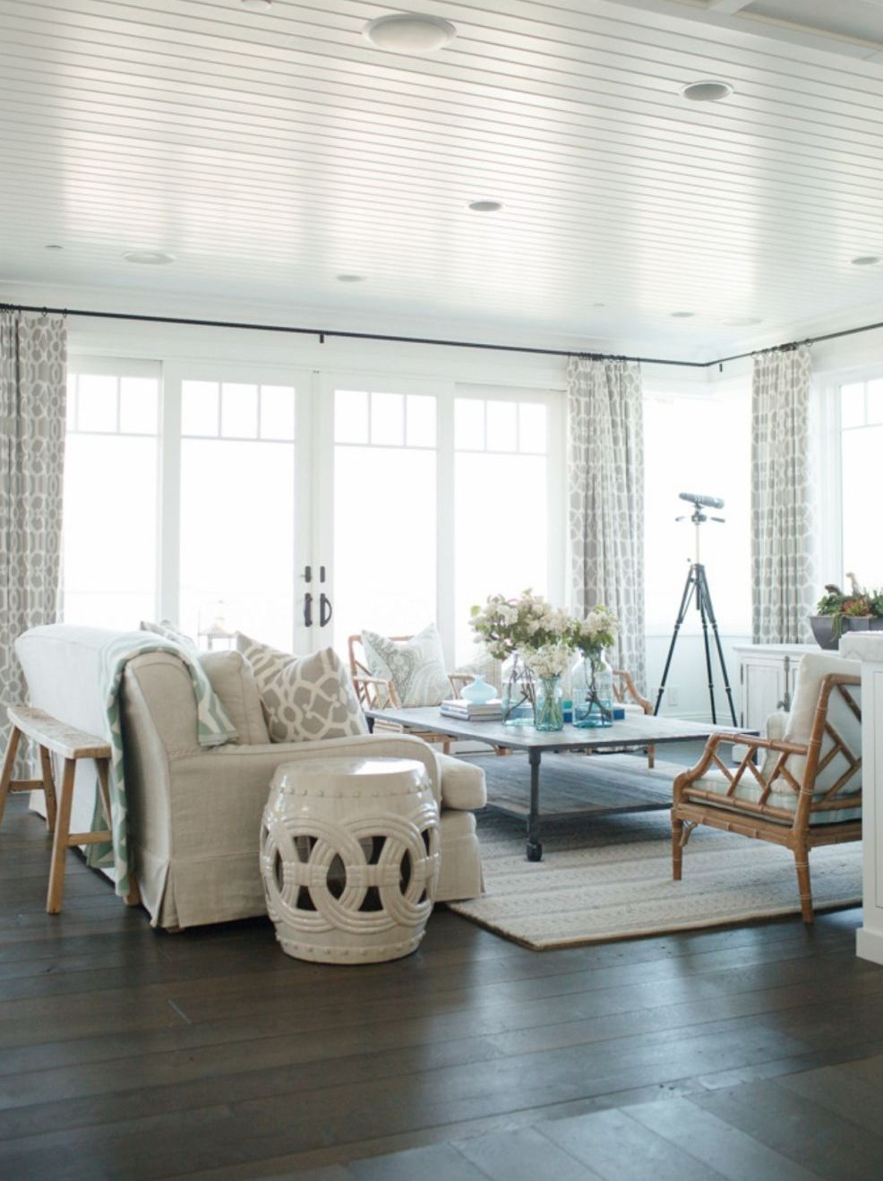 Paneling. +70 Unique Ceiling Design Ideas for Your Living Room