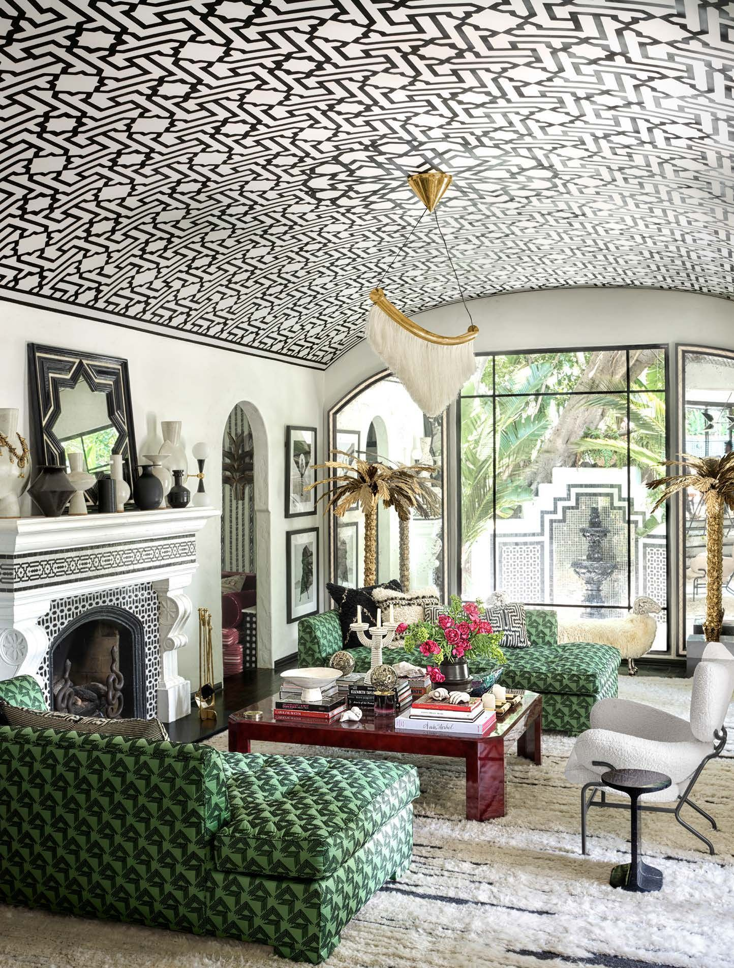 Patterned. +70 Unique Ceiling Design Ideas for Your Living Room