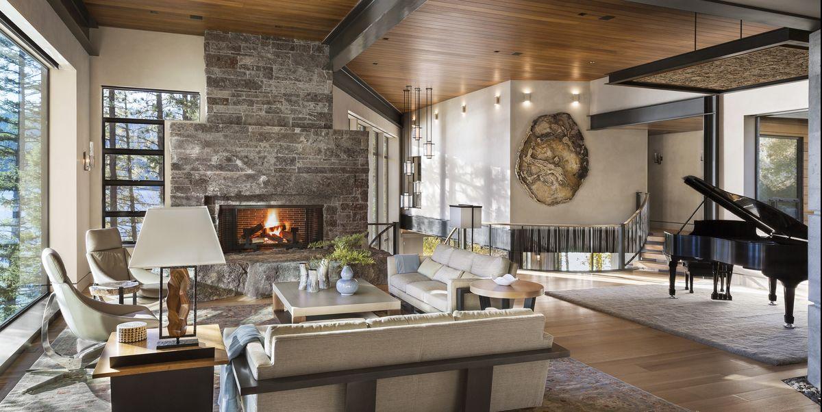Rustic-wooden-design-2 +70 Unique Ceiling Design Ideas for Your Living Room