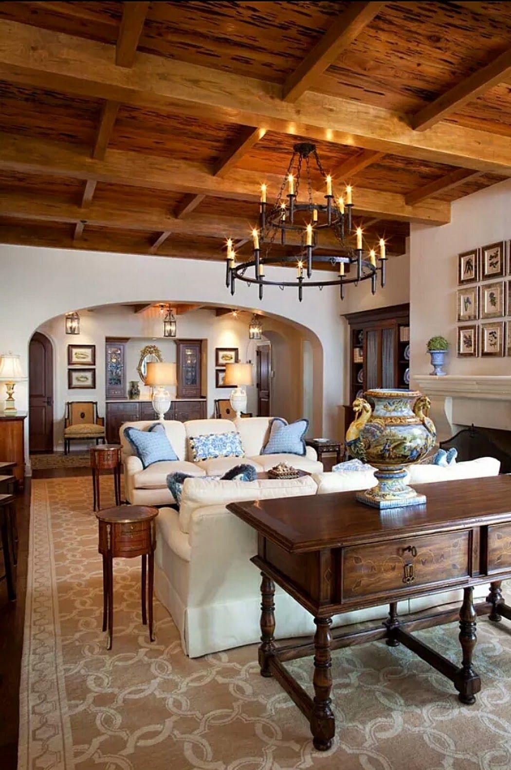 Rustic-wooden-design..-1 +70 Unique Ceiling Design Ideas for Your Living Room