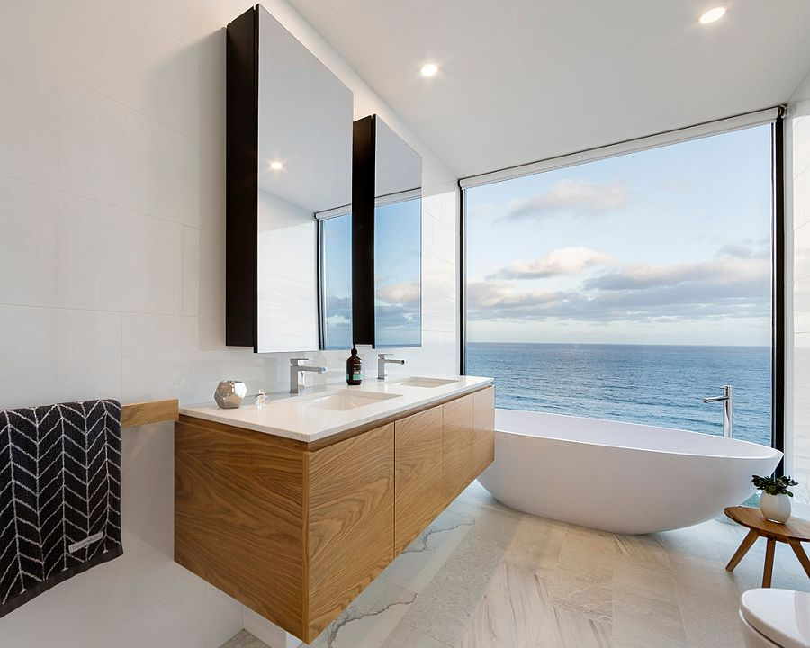 Sea-View. Best +60 Ideas to Enhance Your Bathroom's Luxuriousness