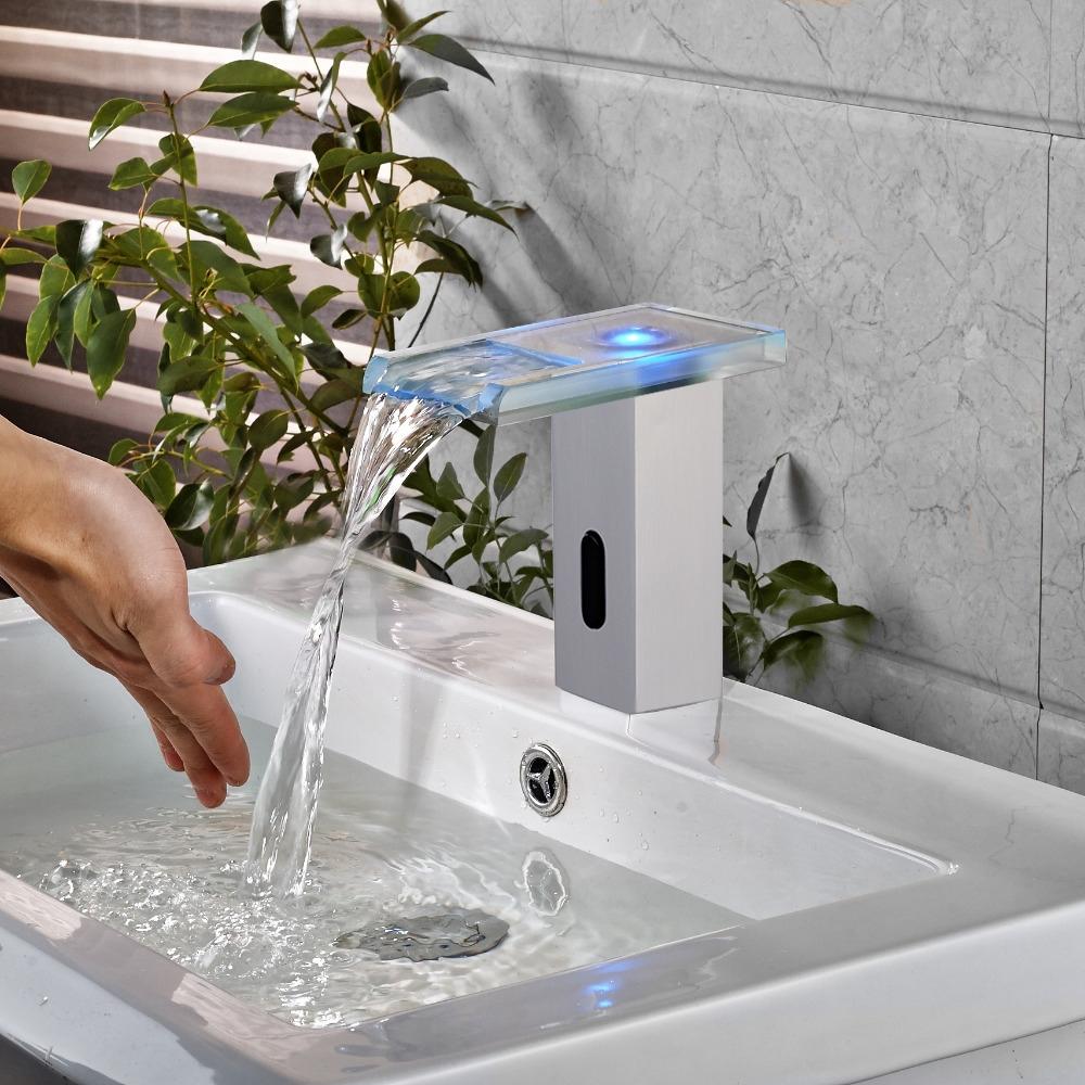 Sensor-sink-faucet.-1 Best +60 Ideas to Enhance Your Bathroom's Luxuriousness