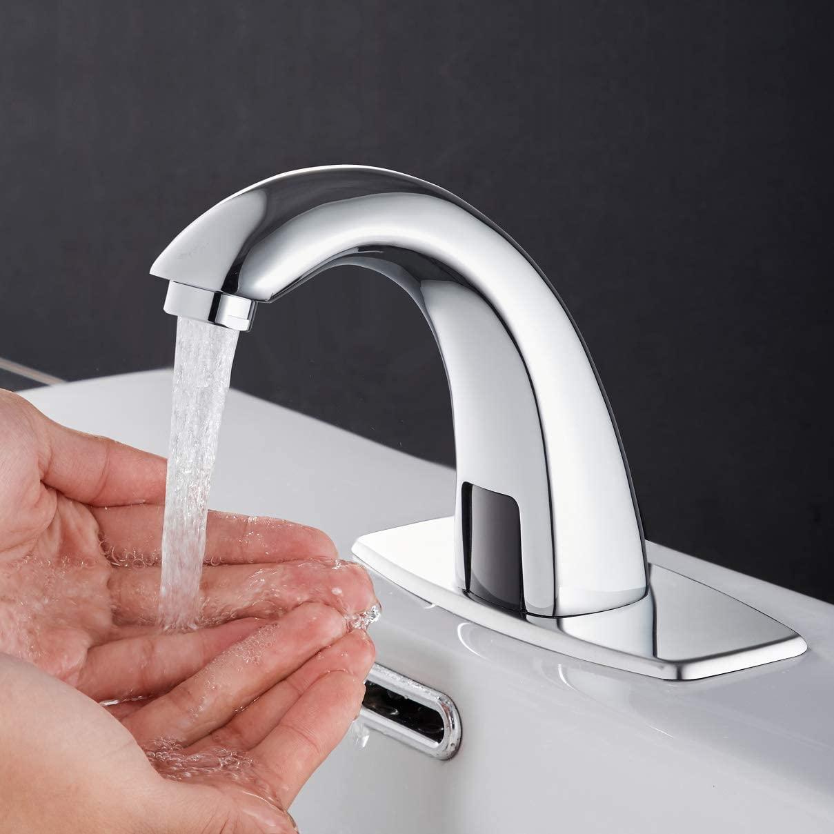 Sensor-sink-faucet Best +60 Ideas to Enhance Your Bathroom's Luxuriousness