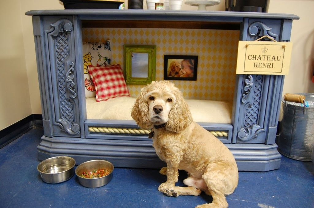 TV-cabinet-Dog-Bed-Design-1 +80 Adorable Dog Bed Designs That Will Surprise You