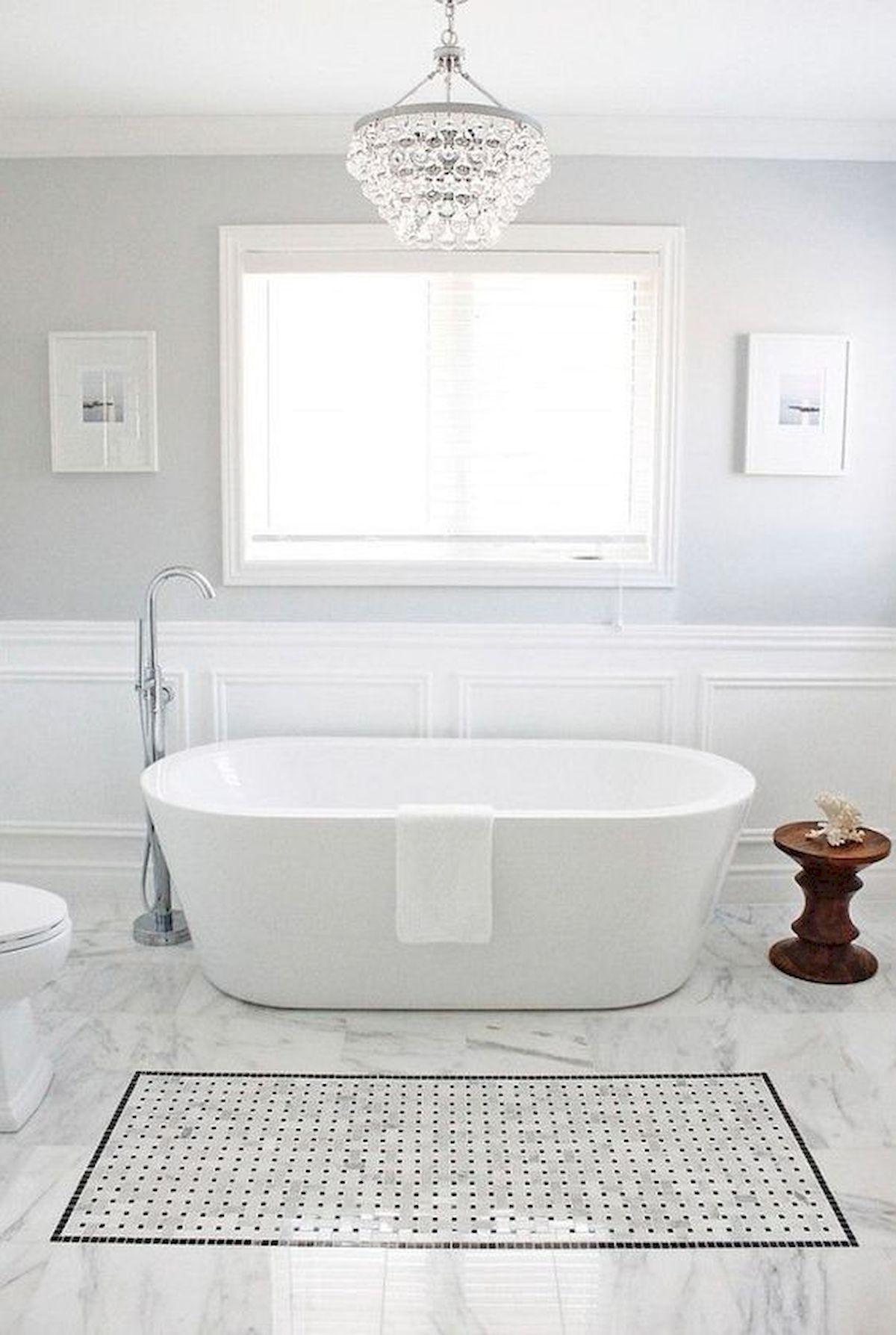 Tile-rug-2 Best +60 Ideas to Enhance Your Bathroom's Luxuriousness