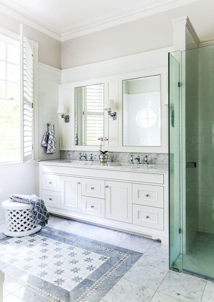 Tile-rug.-1 Best +60 Ideas to Enhance Your Bathroom's Luxuriousness
