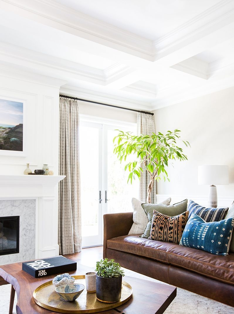 Wainscoting.-1 +70 Unique Ceiling Design Ideas for Your Living Room