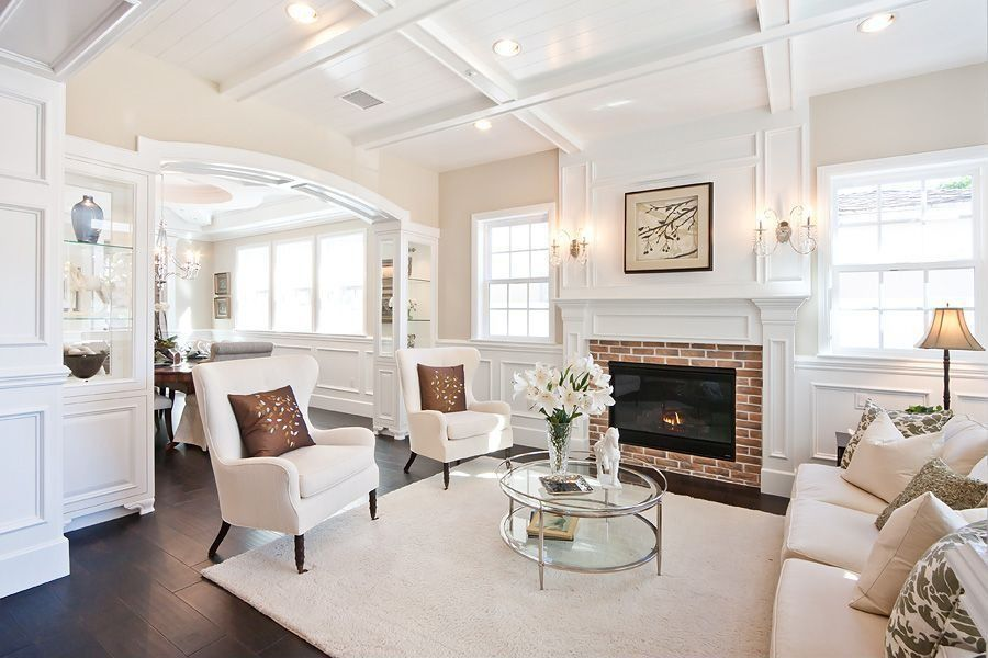 Wainscoting.-2 +70 Unique Ceiling Design Ideas for Your Living Room