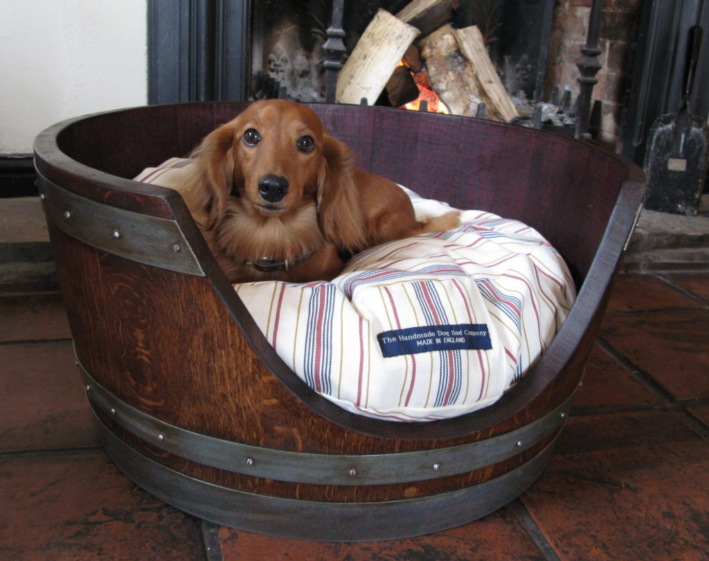 Wine-barrel-bed.-1024x811 +80 Adorable Dog Bed Designs That Will Surprise You