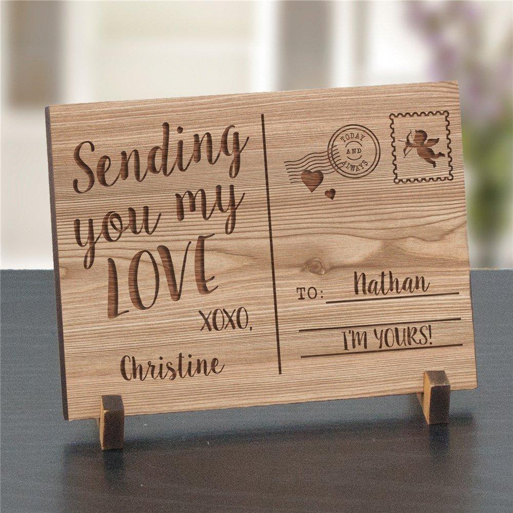 anniversary-gift-carved-handwritten-love-note 6 Creative Wedding Anniversary Gift Ideas