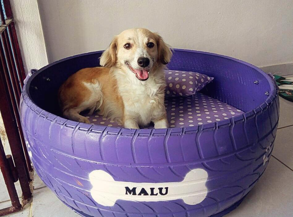 bed-tire-. +80 Adorable Dog Bed Designs That Will Surprise You