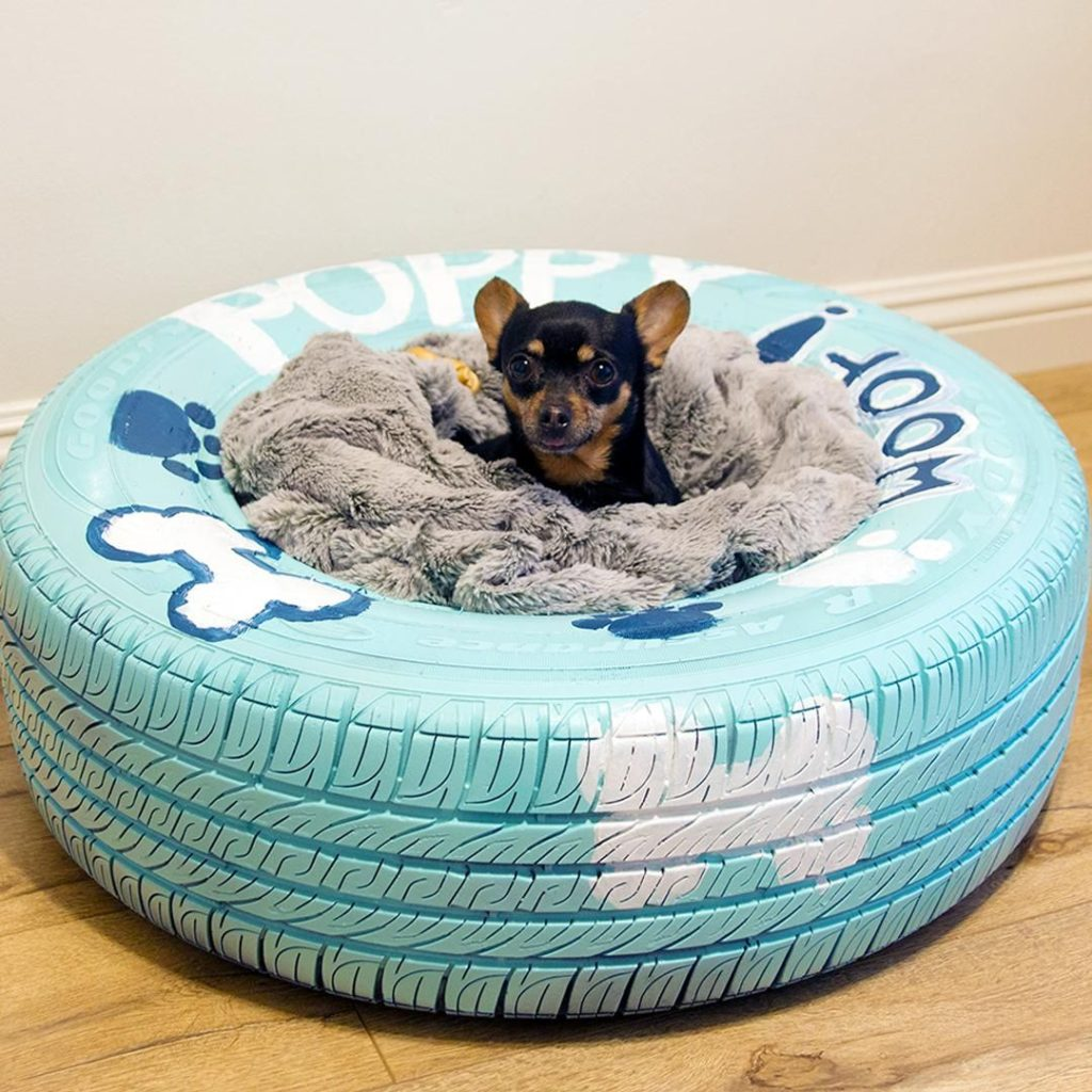 bed-tire-1024x1024 +80 Adorable Dog Bed Designs That Will Surprise You