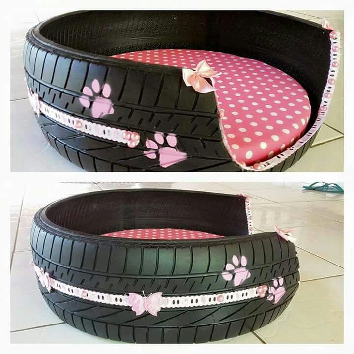 bed-tire-2 +80 Adorable Dog Bed Designs That Will Surprise You
