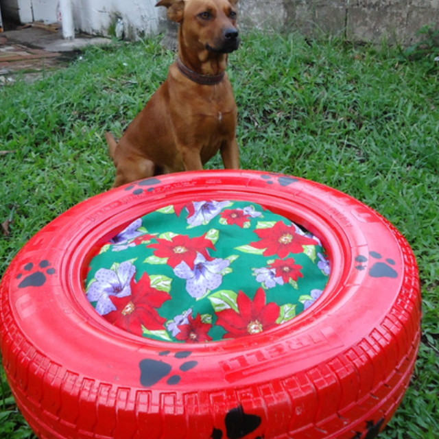 bed-tire +80 Adorable Dog Bed Designs That Will Surprise You