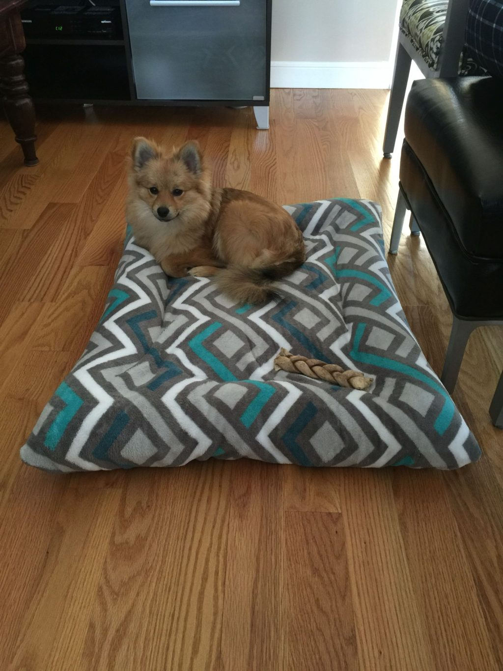 dog-beds-from-used-clothes.-1024x1365 +80 Adorable Dog Bed Designs That Will Surprise You