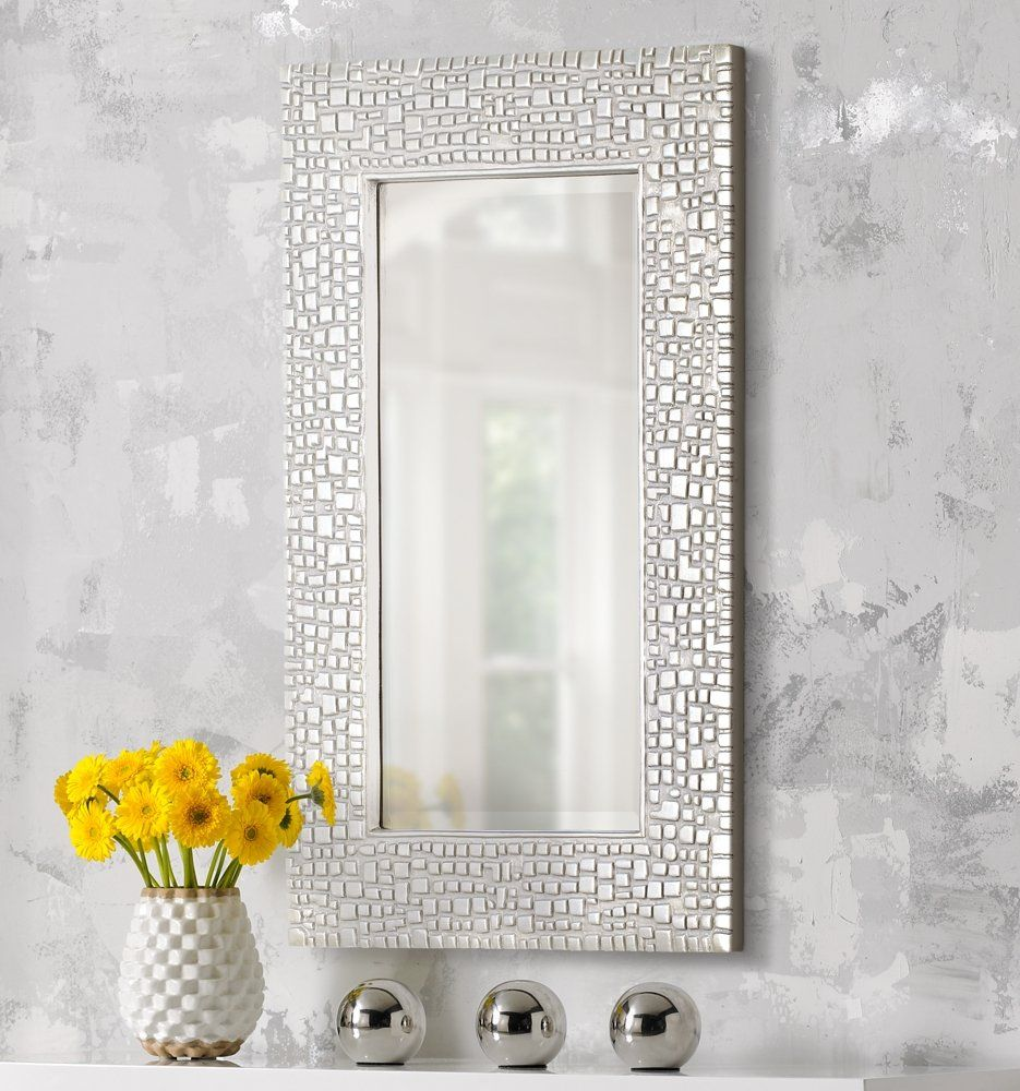 mosaic-style-mirror Best +60 Ideas to Enhance Your Bathroom's Luxuriousness